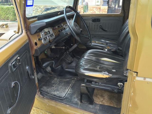 1978 toyota land cruiser fj40 with origninal 2f engine. Black Bedroom Furniture Sets. Home Design Ideas