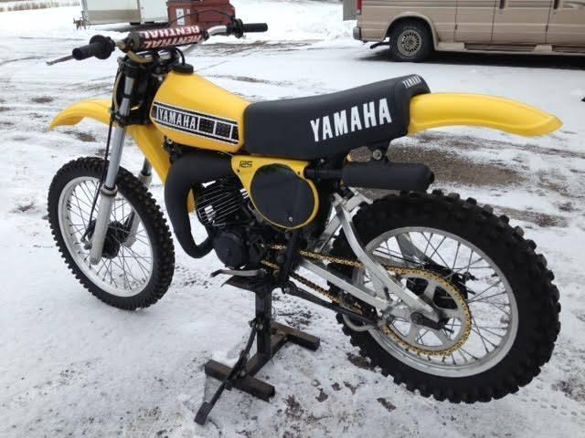 1978 yamaha yz 125 ahrma vintage motocross. Black Bedroom Furniture Sets. Home Design Ideas