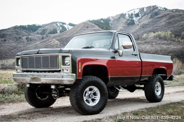 79 Chevy Truck >> 1979 Chevy Truck Cheyenne K10 4x4 Short Bed Shop Truck Zero Rust
