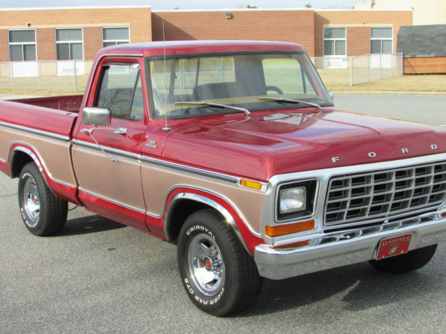 1979 ford f100 short bed pickup truck 351w clean publicscrutiny Gallery