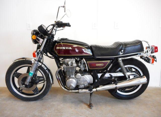 Hondas For Sale >> 1979 HONDA CB650 ALL ORIGINAL & CLEAN!! NO RESERVE!! CB 650 750 550 CAFE RACER