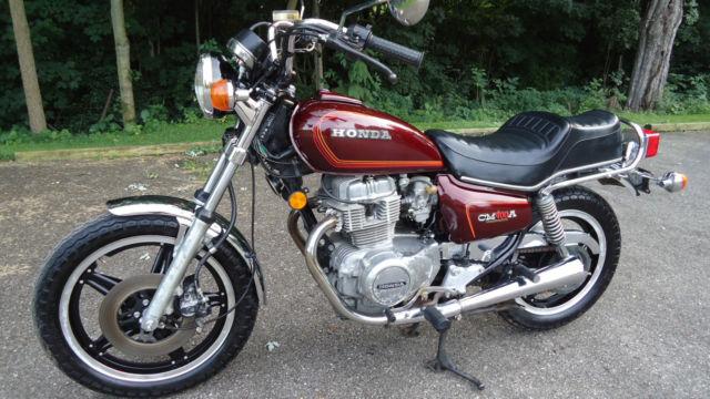 1979 honda cm400 cm 400 cb automatic hondamatic motorcycle. Black Bedroom Furniture Sets. Home Design Ideas