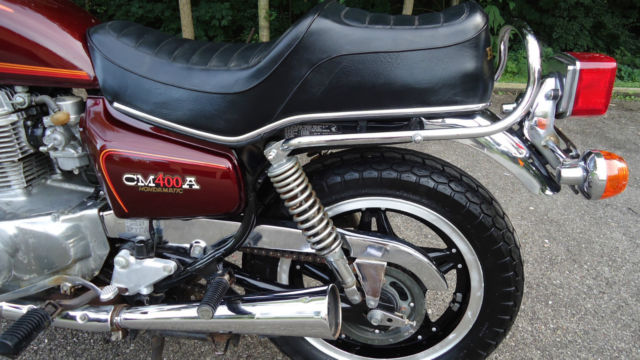 1979 Honda Cm400 Cm 400 Cb Automatic Hondamatic Motorcycle