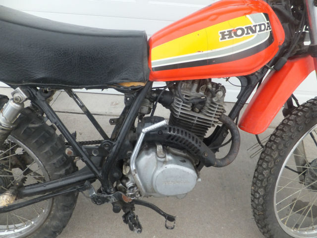 Bike Tune Up >> 1979 Honda XL185s Motorcycle