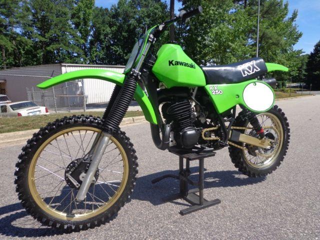 1979 Kawasaki Kx250 A5 Kx 250 Rare Twin Shock Mx