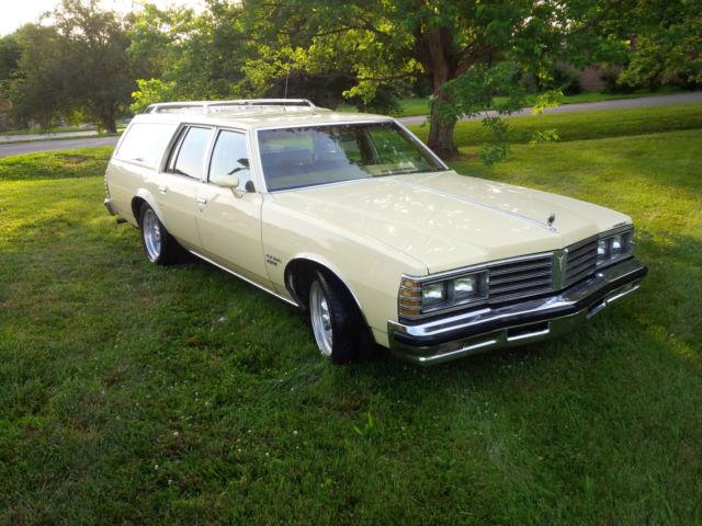 1979 Pontiac Grand Lemans Safari Wagon 4 Door 5 0l