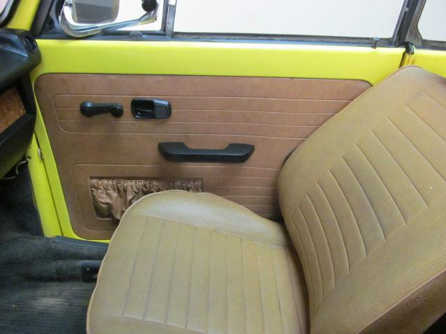 1979 vw beetle convertible lemon yellow. Black Bedroom Furniture Sets. Home Design Ideas