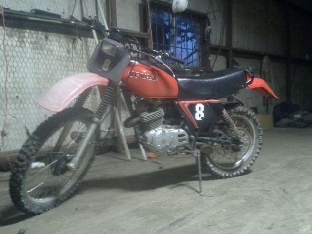 Xr Honda Vintage Motorcycle Dirt Bike on 1981 Honda Cr450