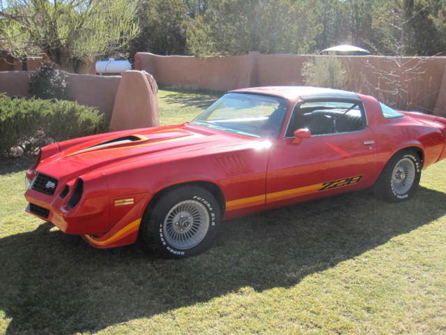 1979 Z28 Camaro restored TTops no rust New Mexico car
