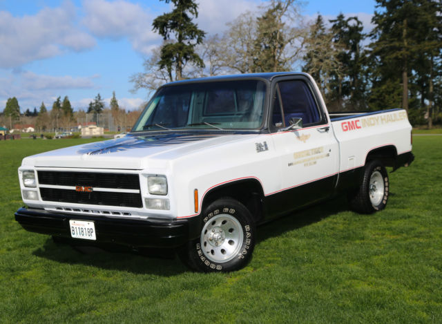 1980 Gmc Indy Hauler Pace Truck Indianapolis 500 Pace Car