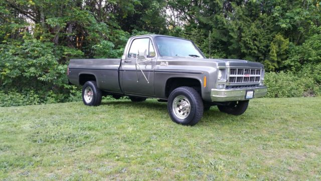 1980 GMC SIERRA GRANDE 2500 4X4 ONE OWNER TRUCK WONDERFUL ...