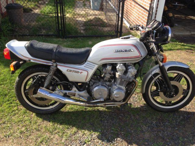 1980 Honda CB750F Super Sport CB750 CB 750 motorcycle cafe ...