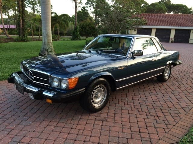 1980 mercedes benz 450 slc coupe immaculate low miles. Black Bedroom Furniture Sets. Home Design Ideas