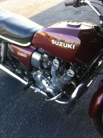 1980 SUZUKI GS 850