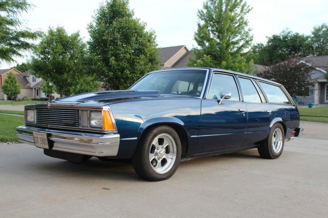 1981 Chevrolet Malibu Wagon Hot Rod Very Clean TPI Swap