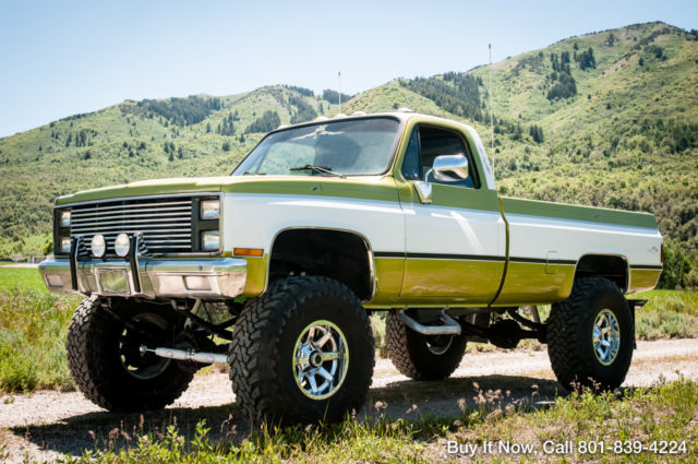 1981 Chevy Truck K10 4wd Square Body Shop Truck 350 V8 Fuel