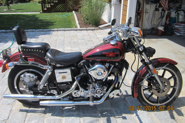 1981 Harley Davidson Fxs Shovelhead Lowrider