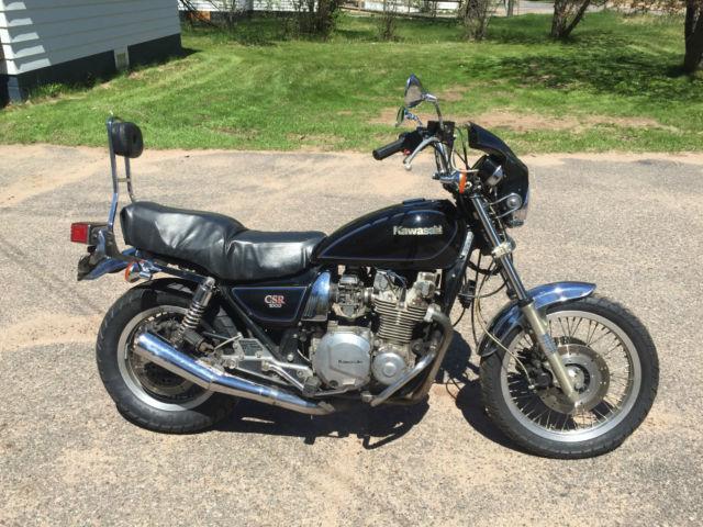 1981 Kawasaki CSR 1000 motorcycle, KZ1000-M1 CSR