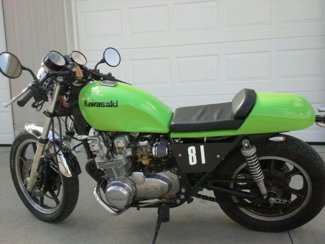 1981 Kawasaki Kz 750 H Bobber  Cafe Racer