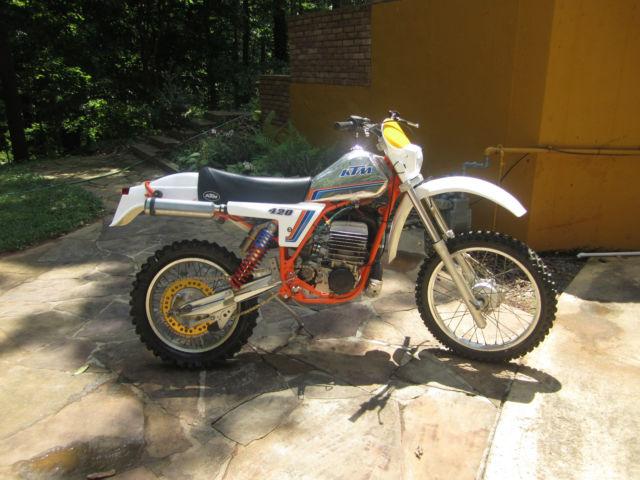 1981 KTM 420 / 495 GS Maico 490 440 81 AHRMA Vintage Penton