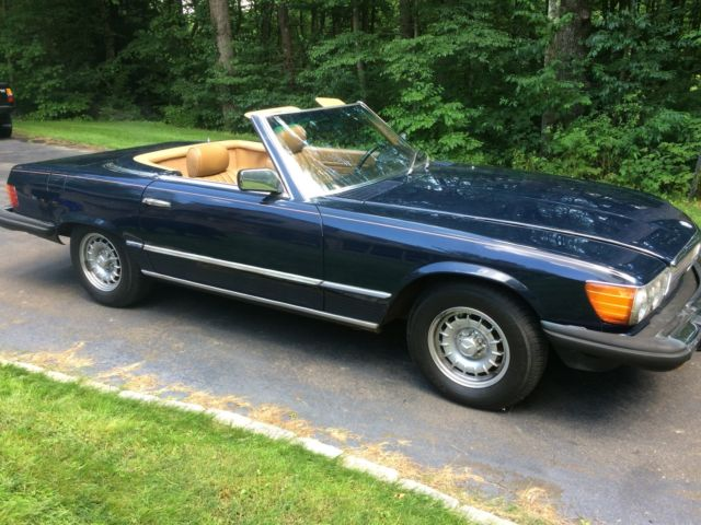 1981 Mb 380sl Blue Tan Interior Only 150k Miles Good