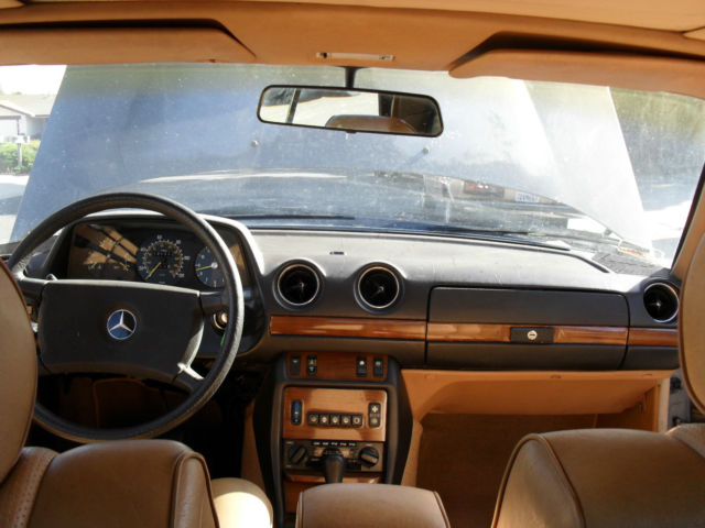 1981 Mercedes-Benz 300CD Coupe replaced with turbo  LOW