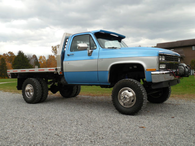 1982 chevy k30 lifted dually 4x4 restored with big block. Black Bedroom Furniture Sets. Home Design Ideas