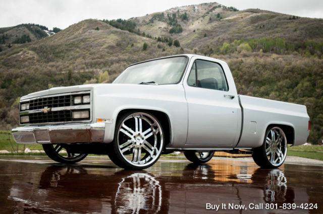 Best Bed Liner >> 1982 Chevy Truck Silverado C10 - SHORT BED, REBUILT 350 V8