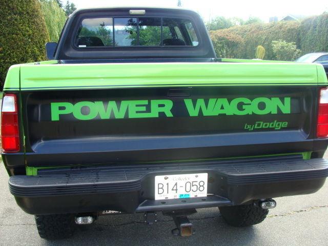 1982 Dodge Crew Cab 200 Macho Power Wagon Mint