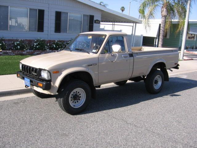 1982 Toyota 4wd Pickup Truck Sr5 Long Bed 4x4 Rare Sahara Edition 3