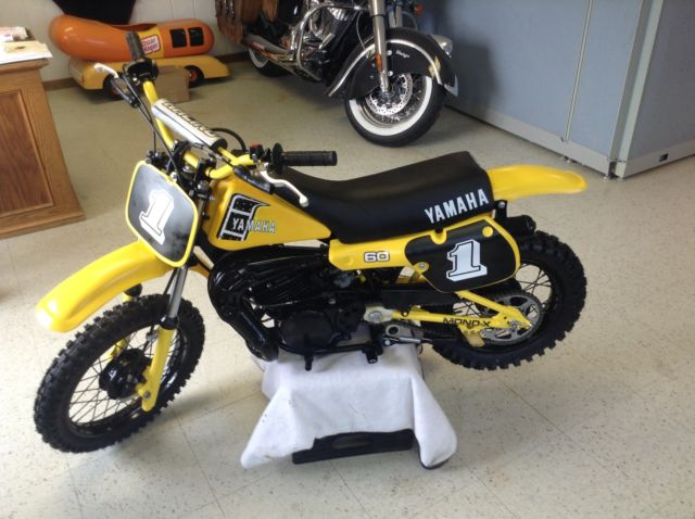1982 yamaha yz60 yz 60yz ahrma vintage mx motocross 50 for Yamaha mini dirt bikes
