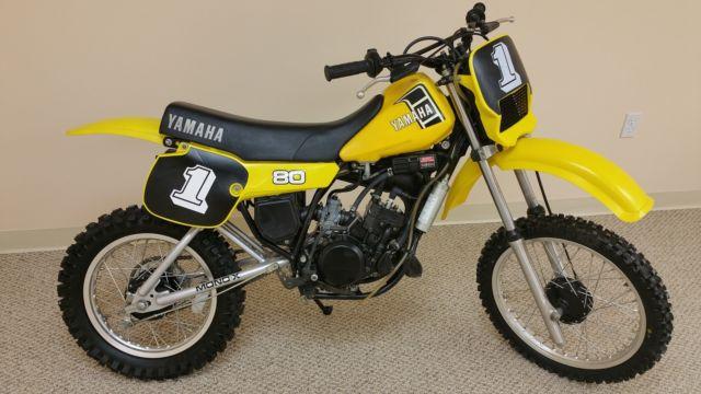1982 yamaha yz80 yz 80