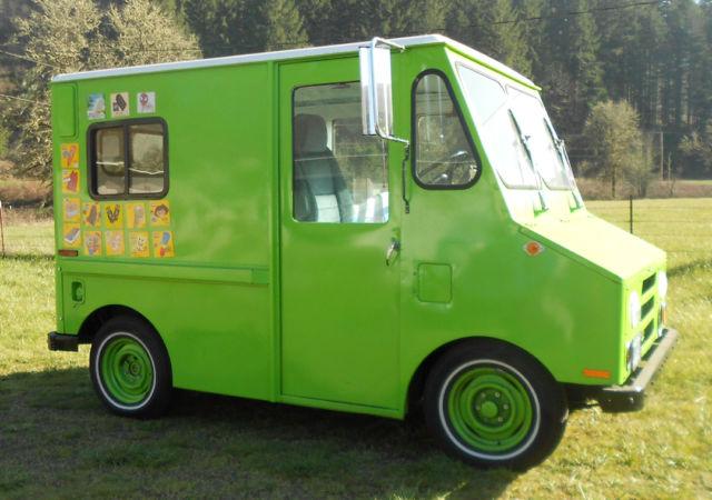 1984 Am General Postal Mail Van Truck Ice Cream Truck