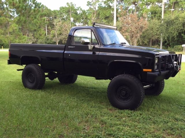 1984 Chevrolet K30 Custom 6 2l Diesel Cucv Military Truck