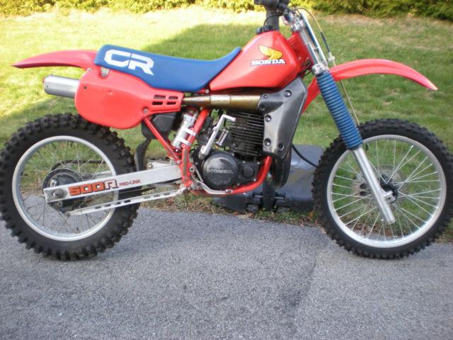 1984 honda cr 500 vintage dirt bike motocross for Honda cr 500