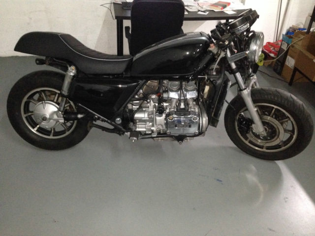 1984 Honda Goldwing Aspencade 1200cc Cafe Racer Project