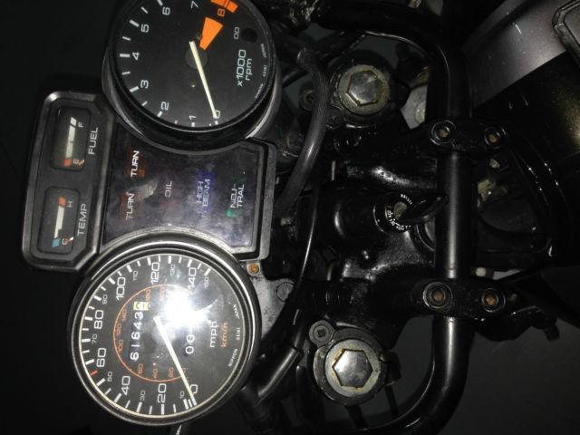 1984 Honda Goldwing Aspencade 1200cc Cafe Racer Project