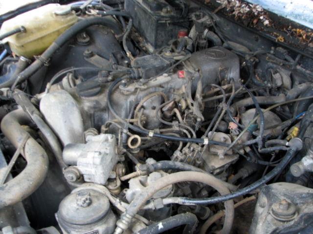 1984 Mercedes 300CD Turbo Diesel Coupe 2 Door