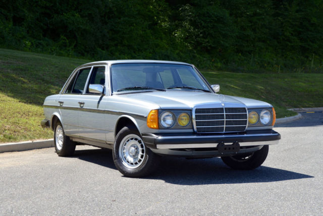 1984 mercedes 300 turbo diesel