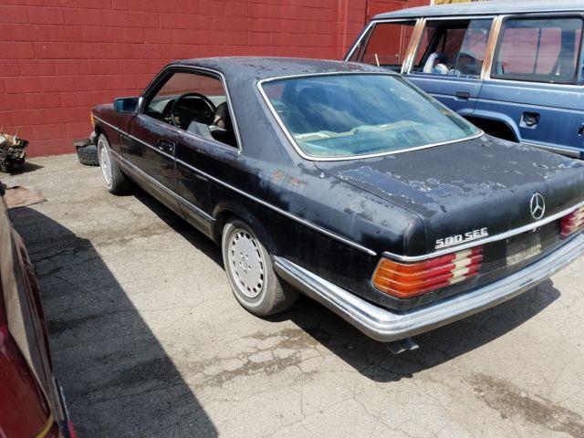 1984 Mercedes-Benz 500-Series SEC Rare Euro Spec Model
