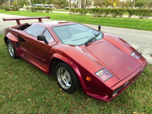1985 Lamborghini Countach 5000 Replica