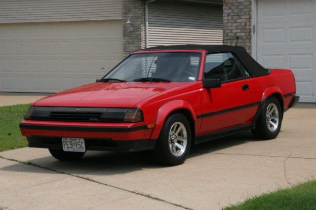 1985 Toyota Celica Gts Convertible 5 Sd 67 800 Mi All Original No Reserve