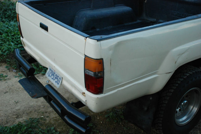 1985 Toyota Pickup 4x4 Solid Axle 2jz Swap