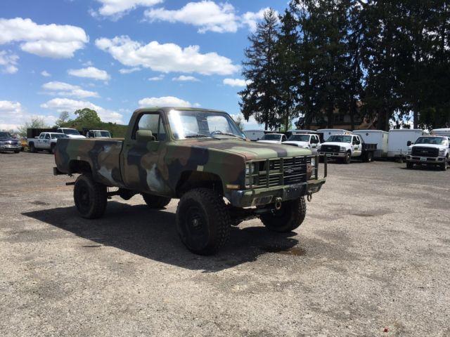 1986 Chevrolet K30 D30 Pick Up Truck  4x4 Diesel  Former