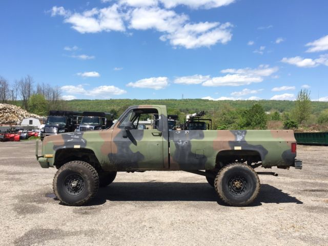1986 Chevrolet K30 D30 Pick Up Truck 4x4 Diesel Former