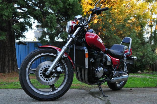 1986 Kawasaki ZL600 - Moto.ZombDrive.COM