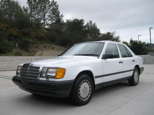 1986 mercedes benz 300e w124 ca mercedes only 53k 1 owner for Mercedes benz 1986 e300