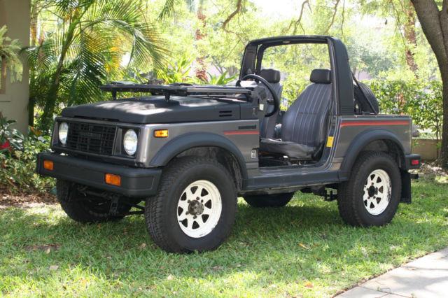 1986 suzuki samurai 4x4 convertible toad street legal. Black Bedroom Furniture Sets. Home Design Ideas