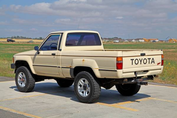 1986 Toyota Pickup Efi Turbo Standard Cab