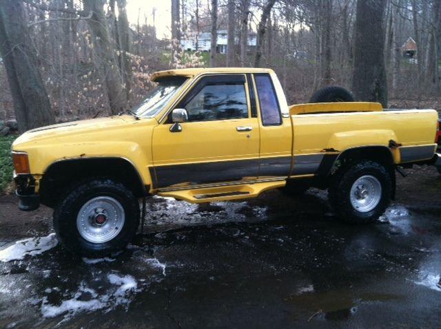 1985 toyota pickup sr5 turbo